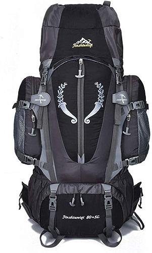 FJYBOA Sac à Dos Large 85L Outdoor Backpack Travel Sacs à Dos Multi-usages pour la randonnée Randonnée Grande capacité Sacs à Dos de Camping Sacs de Sport