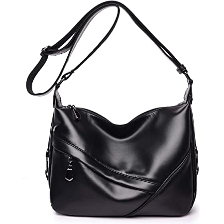Toping Fine Womens Satchel Solid Color Zipper Tassel Tote Crossbody Coin Shell Bag
