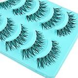 Eyelashes Big Sale! 5 Pair/Lot Crisscross False Eyelashes Lashes Voluminous Hot Eye Lashes Black