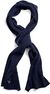 Luxury Fashion | Gant Mens 19039920002410 Blue Scarf | Fall Winter 19