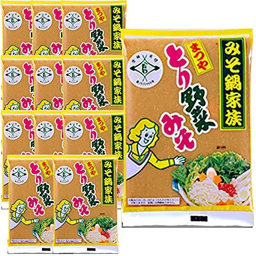 まつや とり野菜みそ 200g 12袋×1箱