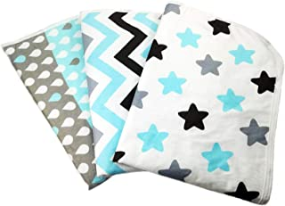 Changing Pad Liners [3 Pack Large] -Portable Changing Mat - 100% Waterproof - Absorbent - Baby Shower Gift - Unisex - Chan...