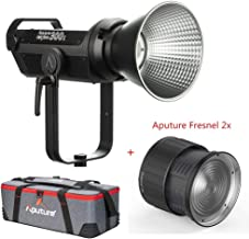 Aputure 300X Led Video Light + Aputure Fresnel 2X Mount Continuous Output Lighting Kit