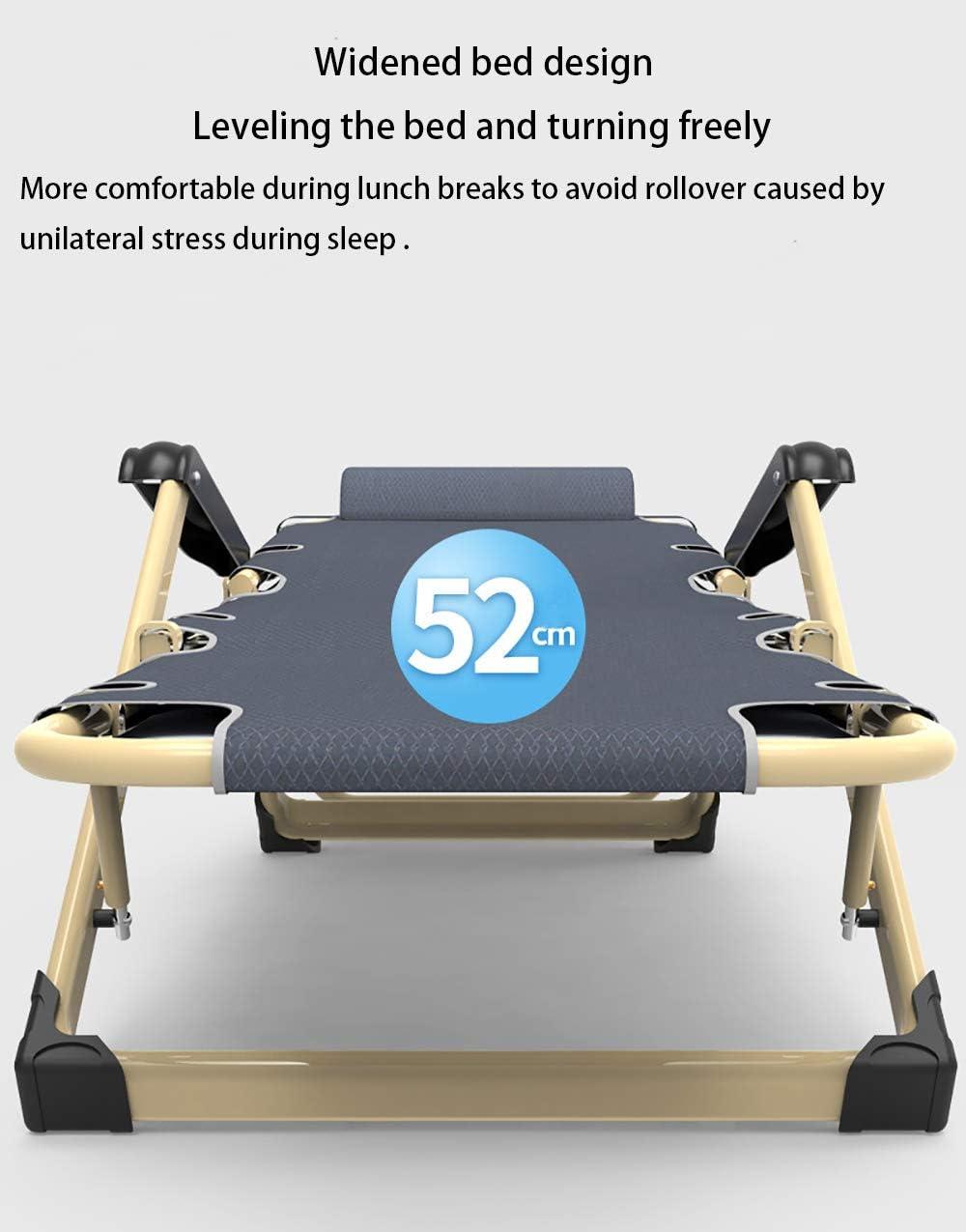 Chaise de salon pliante d'extérieur pour sieste de bureau lit simple-4 4