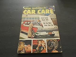 Fred Russell's Car Care Fawcett Book 1961 Print