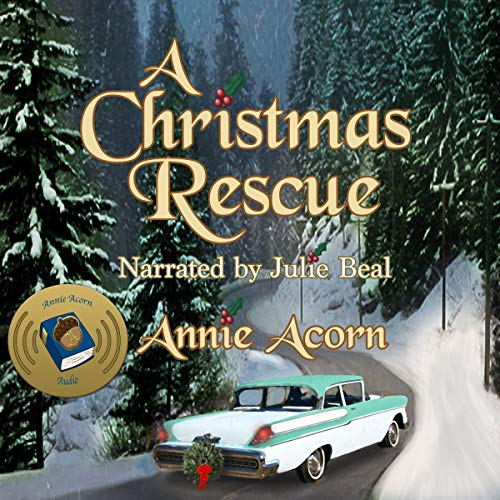 A Christmas Rescue audiobook cover art