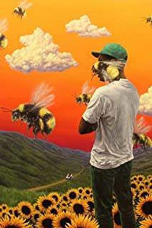"""SICHYUAN Tyler Rapper Hip Hop Art Wall Indoor Room Outdoor Poster - Water Resistant Poster (Size: 24"""" x 36"""")"""