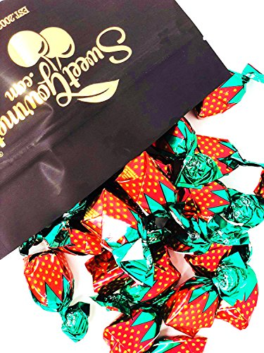 Arcor Strawberry Buds Filled Hard Candy Bon Bons bulk wrapped candy bulk 2pounds