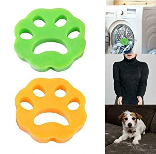 QZ Washing Machine Floating Pet Hair Lint Catcher Silicone Laundry Fur Remover Washer Dryer Cleaning Tool (Color : Green)