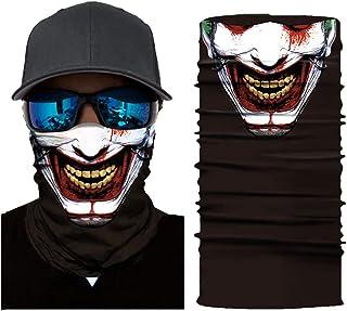 JSJCHENG Multifunctional Seamless Face Mask Bandana for Fishing Yoga Motorcycles Workout