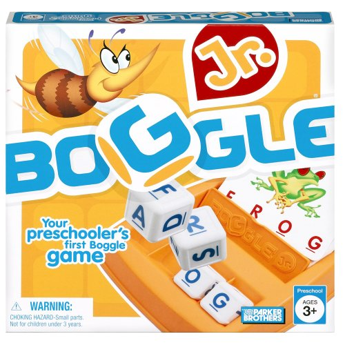 Boggle Junior, Preschool Game, First...