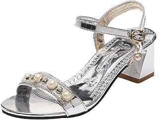 3d1afabd642ed8 Goodtrade8 ❤ Pearl Pump Heel Platform Wedges Sandals for Women