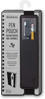 IF- Bookaroo Pen Pouch for Books- Black