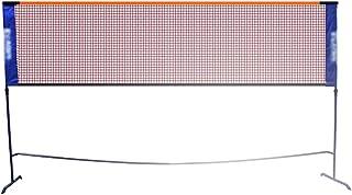 Red de tenis Redes Bádminton Estante De Red Portátil Profesional Estándar Al Aire Libre Móvil Móvil Simple Colgante Neto Columna Neto Mejor Regalo (Color : Black, Size : Net Width=610cm)