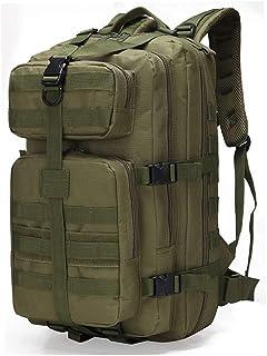 NKJGFV Travel Pack 35L Mochila táctica Militar Asalto Ejército 3D Bolsa Impermeable al Aire Libre Mochila de Gran tamaño Que va de excursión Trekking