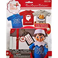 Elf on the Shelf Graphic Tee Multipack SnoCool 3 elf-sized t-shirts and keepsake tin suitcase