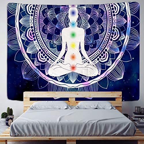N / A Tapiz decoración de la Pared Mantas Coloridas geométricas Tapiz Colgante de Pared Colcha Bohemia Manta Lavado a Mano Tejido 100% poliéster Impreso Liso