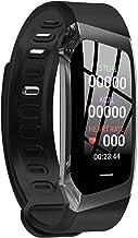 TIANYOU Fitness Tracker Hartslagarmband Kleurrijk scherm GPS Motion Track Stap Waterdicht E18 Smart Armband Bloeddruk Moni...