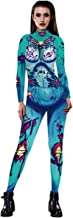 Thenxin Halloween Novelty Jumpsuit Long Sleeve Bodycon Romper for Halloween Party