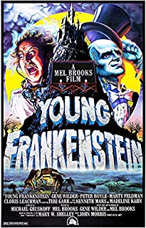 USWay 188247 Young Frankenstein 1974 Movie Decor Wall 36x24 Poster Print