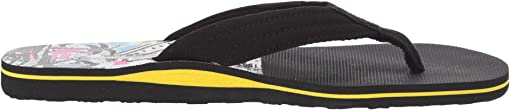 (Layback) Black/Black/Yellow