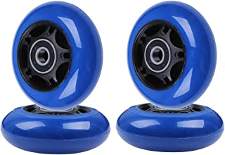 AOWISH Inline Skate Wheels 85A [4-Pack] Beginner Roller Blades Replacement Wheel with Pre-Installed Bearings ABEC-9 [64mm 70mm 72mm 76mm 80mm AVL]