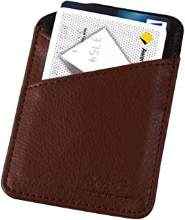 Y&G YCM030101 Brown Black Mens Money clip and Card Holder Great for Mens