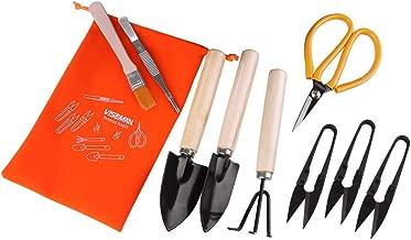 Bonsai Tools Kit Set-10 Pcs Mini Bonsai Tree Growing Kits for Bonsai Pruning,Bonsai Trimming Tools for Gardening Enthusiast Beginners