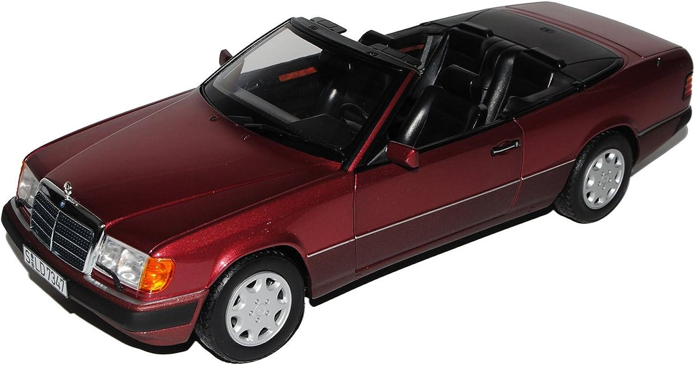 Norev Mercedes-Benz E-Klasse 300 CE W124 A124 Cabrio Almandin Rot 1984-1997 1 18 Modell Auto