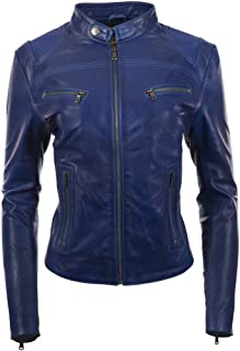 new styles 29b40 fbcdb Amazon.it: Giacca Pelle Blu