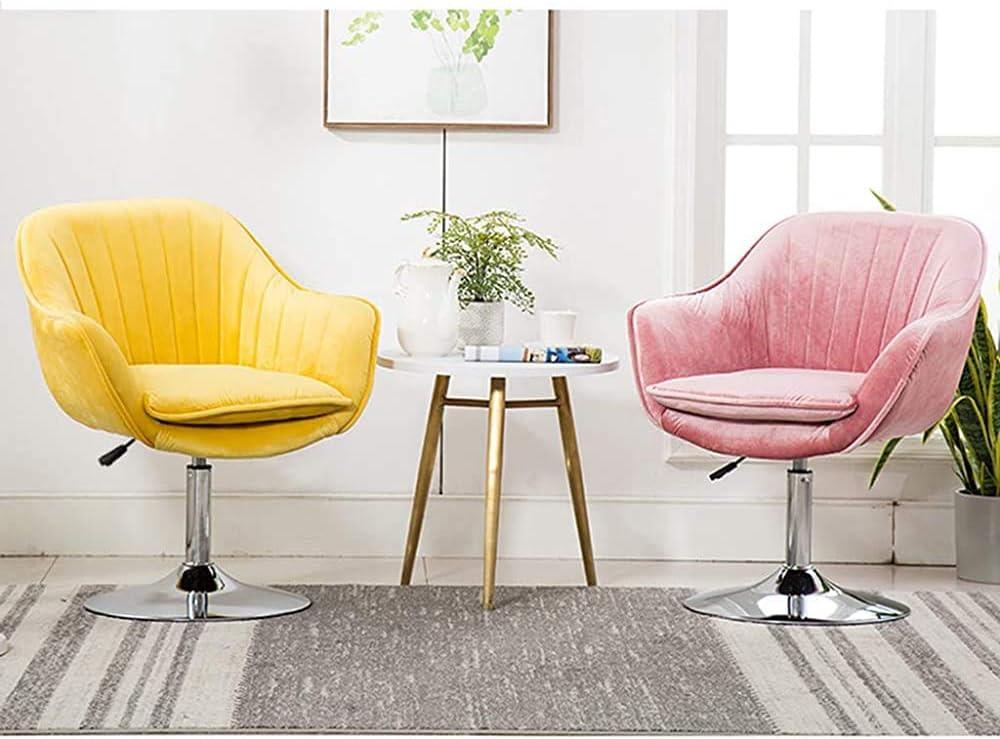 DGSD Chaise de Meuble en Tissu 45 cm Design Disque Durable et Stable Coussin Amovible éponge Haute densité,Light Blue Yellow