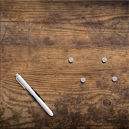 Eurographics Memo Board Wood, braun, 30x 30cm