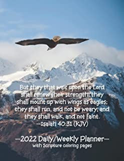 But they that wait upon the Lord shall renew their strength; they shall mount up with wings as eagles; they shall run, and...