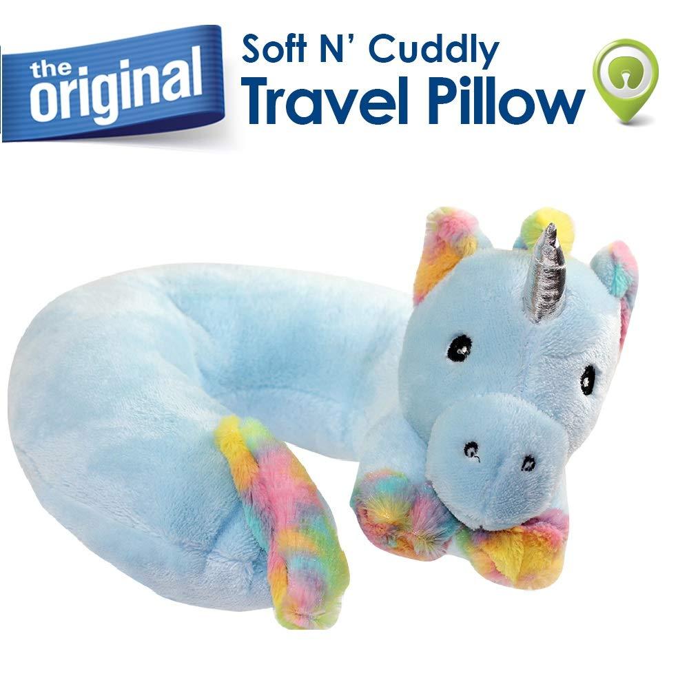 Cloudz Plush Animal Pillows Unicorn