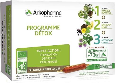 Detoxifiant urinaire, Detoxifiant urinaire - Detox hépatique bio arkopharma