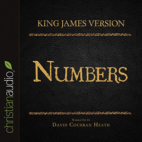Holy Bible in Audio - King James Version: Numbers audiobook cover art