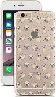 Pugs - Funny Pugs Pattern - Pet Love Dog - Dog Love - for iPhone 6/6S - Super Slim Case