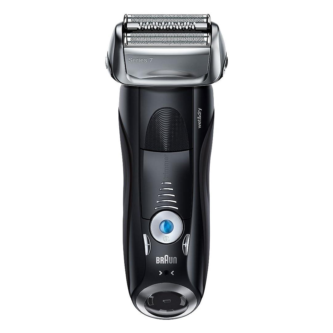 順応性のある区別窓ブラウン メンズ電気シェーバー シリーズ7 7842s 4カットシステム 水洗い/お風呂剃り可