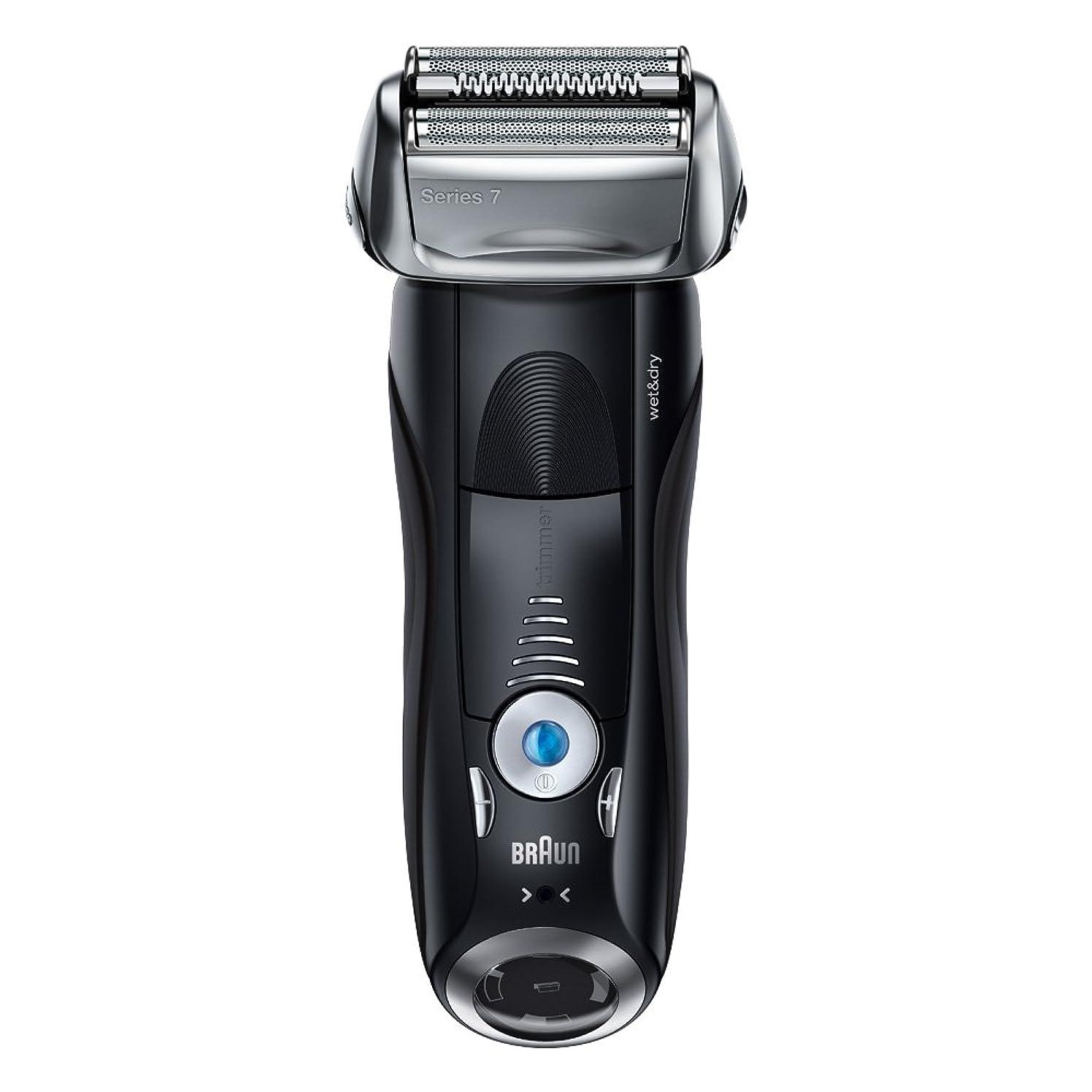 許すアンタゴニスト責めブラウン メンズ電気シェーバー シリーズ7 7842s 4カットシステム 水洗い/お風呂剃り可