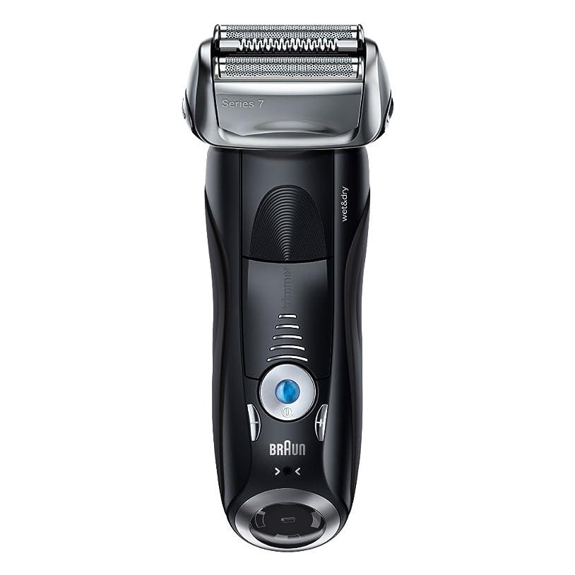 アカデミーオーラル伝染病ブラウン メンズ電気シェーバー シリーズ7 7842s 4カットシステム 水洗い/お風呂剃り可