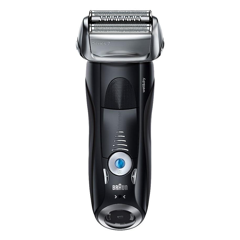 あいまいスタック占めるブラウン メンズ電気シェーバー シリーズ7 7842s 4カットシステム 水洗い/お風呂剃り可