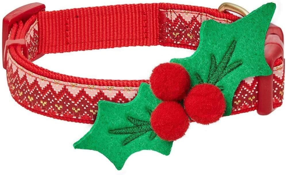 Blueberry Virginia Beach Mall 2021 autumn and winter new Pet 10+ Designs Holiday Festival Collars Christmas Dog