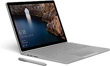 Microsoft Surface Book Model 1703, 1785 (9EX-00001) Intel Core i7, 16GB RAM, 512GB SSD, NVidia Geforce GTX 965M, Win10 (Renewed)