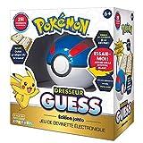 Bandai Pokémon-Drestador Guess Johto-Poké Bal-Juego Electrónico Habla Francesa, ZZ06214
