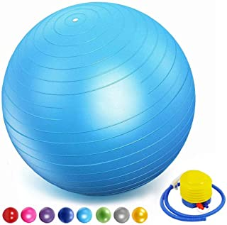 de material robusto 35cm azul claro se puede utilizar como pelota de sentado pelota de gimnasia o de pilates YKXIAOSI Pelota de fitness