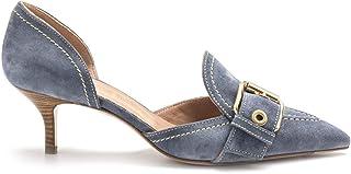 Roberto Festa - Light Blue Suede KREOLA Shoes - KREOLAWEB55