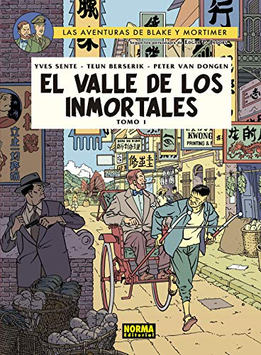 BLAKE&MORTIMER 25.EL VALLE DE LOS INMORTALES.TOMO 1