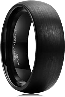 carbon wedding band