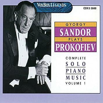 Prokofiev: The Complete Piano Sonatas, 4 Pieces & 4 Études