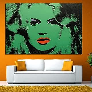 yiyiyaya Pintura tutoriales DVD Liz 1963 Pop Art Print Pintura de la Pared Imagen hogar Abstracto Arte Decorativo Imagen niña pintura-12X18 Pulgadas